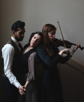 Nadeem Phillip, Christine Quintana, and Molly MacKinnon. Photo by Tristan Casey.