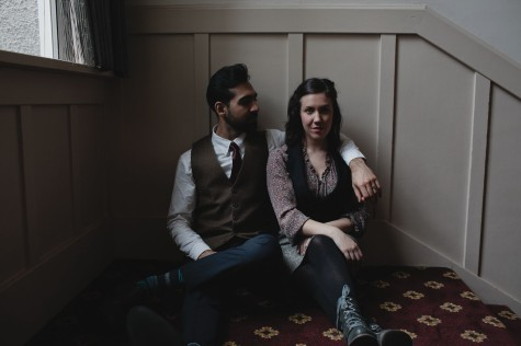 Nadeem Phillip and Christine Quintana, photo by Tristan Casey.